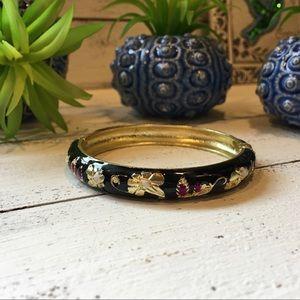 Jewelry - 4 FOR $25 🎁🎄🍾🥂 Black Enamel Bangle